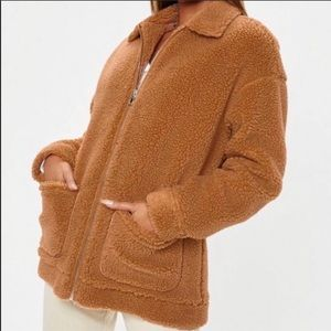 Missguided Oversized teddy Jacket
